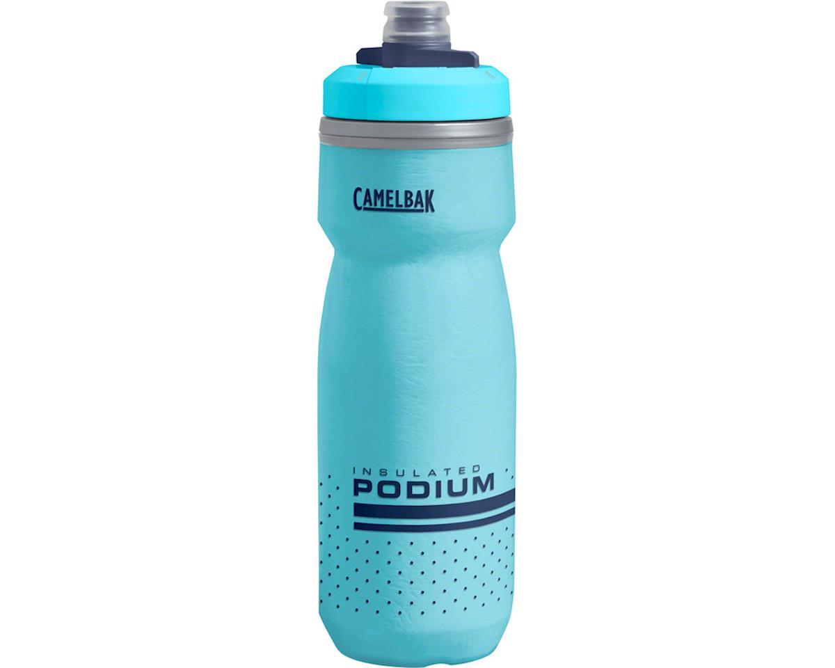 Clear//Blue//Black CAMELBAK PODIUM BICYCLE WATER BOTTLE 21oz BPA FREE