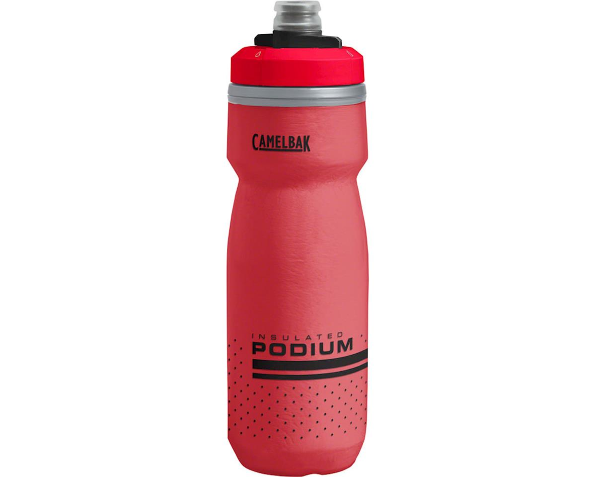 Camelbak Podium Chill Water Bottle (Fiery Red) (21oz)