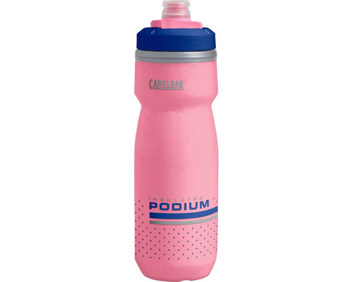 Camelbak Podium Chill Water Bottle (Pink/Ultramarine) (21oz)