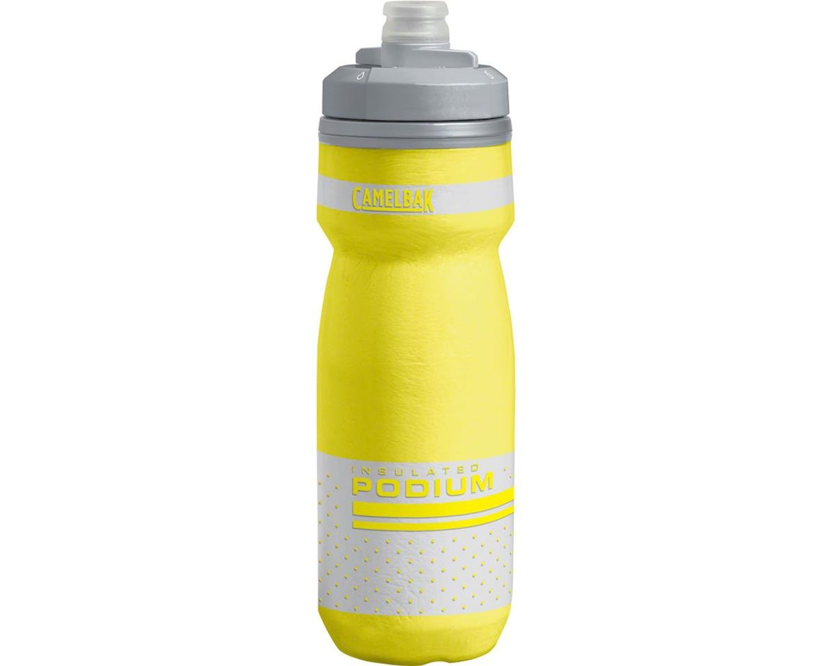 Camelbak Podium Chill Water Bottle (Reflective Yellow) (21oz)