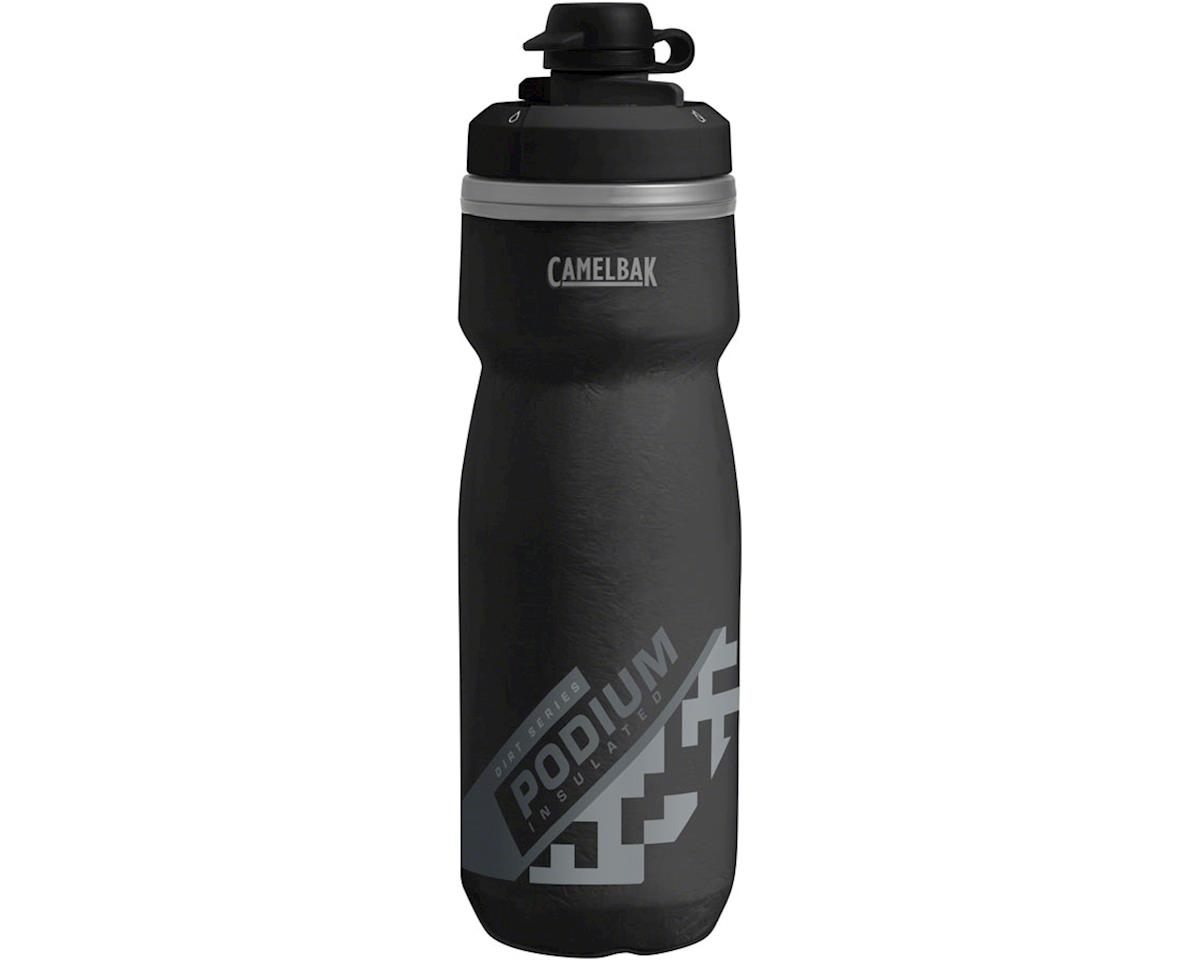 Camelbak Podium Chill Dirt Series Water Bottle (Black) (21oz)