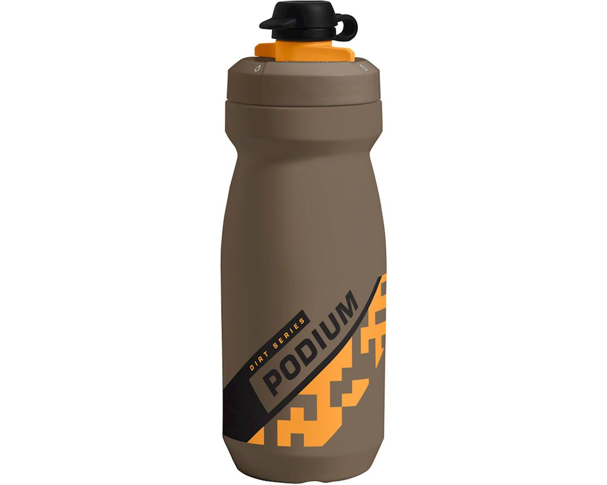 Camelbak Podium Dirt Series Water Bottle (Shadow Grey/Sulphur) (21oz)