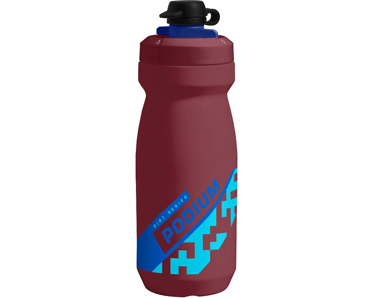 Camelbak Podium Dirt Series Water Bottle (Burgundy/Blue) (21oz)