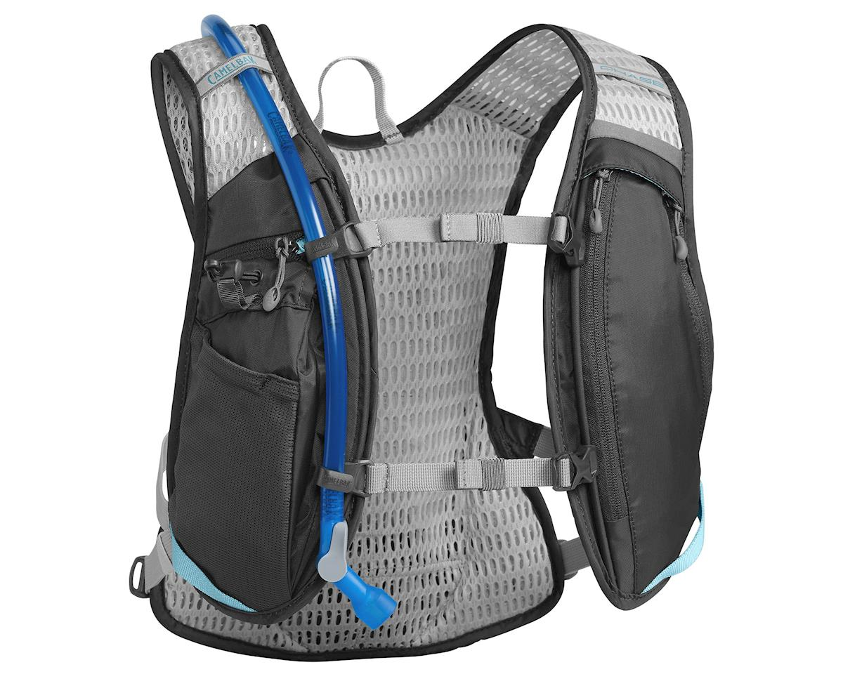 Camelbak Women's Chase Bike Vest 50oz Hydration Pack (Charcoal/Lake Blue)