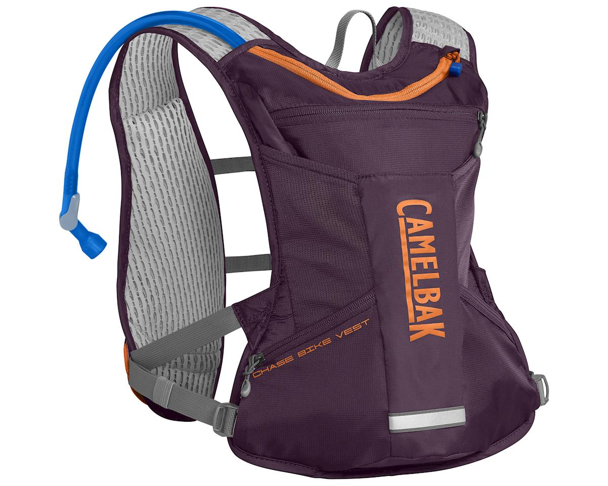 Camelbak Women's Chase Bike Vest 50oz Hydration Pack (Plum/Laser Orange)