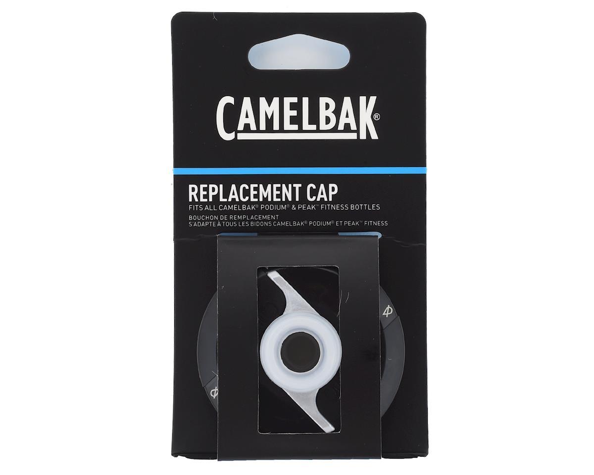 Camelbak Podium and Peak Fitness Water Bottle Replacement Cap (Black)