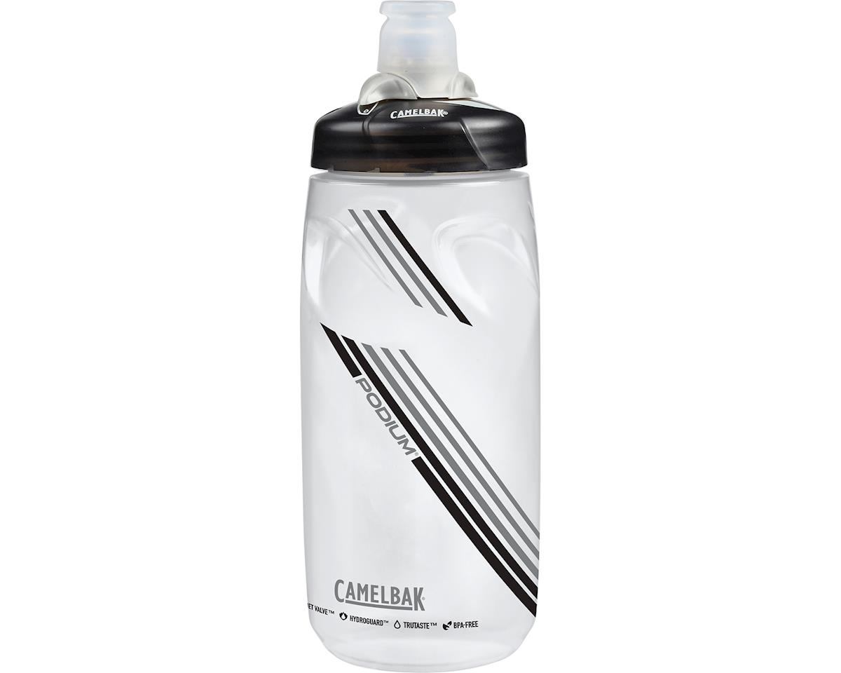 Camelbak Podium Water Bottle: 21oz, Clear Carbon