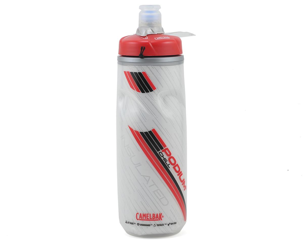 Camelbak Podium Chill Insulated Bike Bottle (21oz) (Crimson)