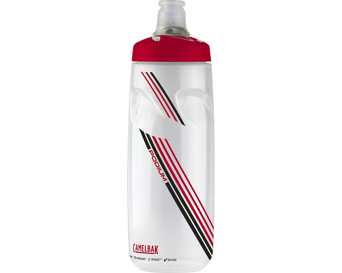CamelBak Podium 24oz Bottle (Black/Red/White)