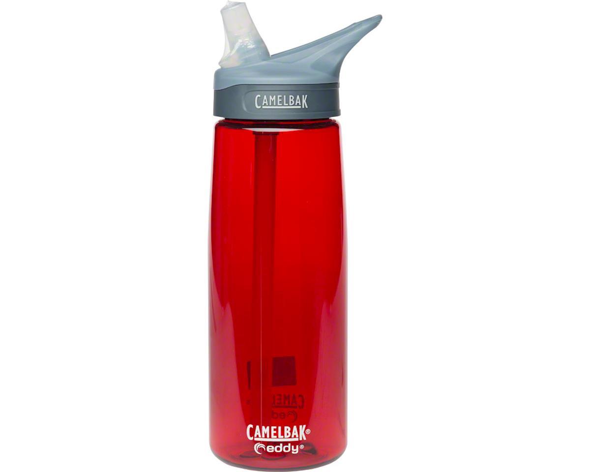 CamelBak eddy Water Bottle: 0.75 Liters, Cardinal