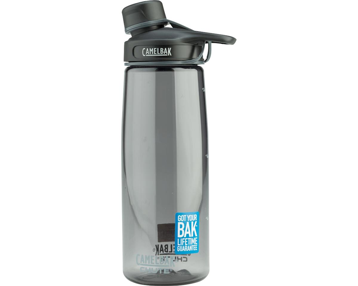 Camelbak Chute Water Bottle 0 75 Liter Charcoal 53886 Accessories Amain Cycling