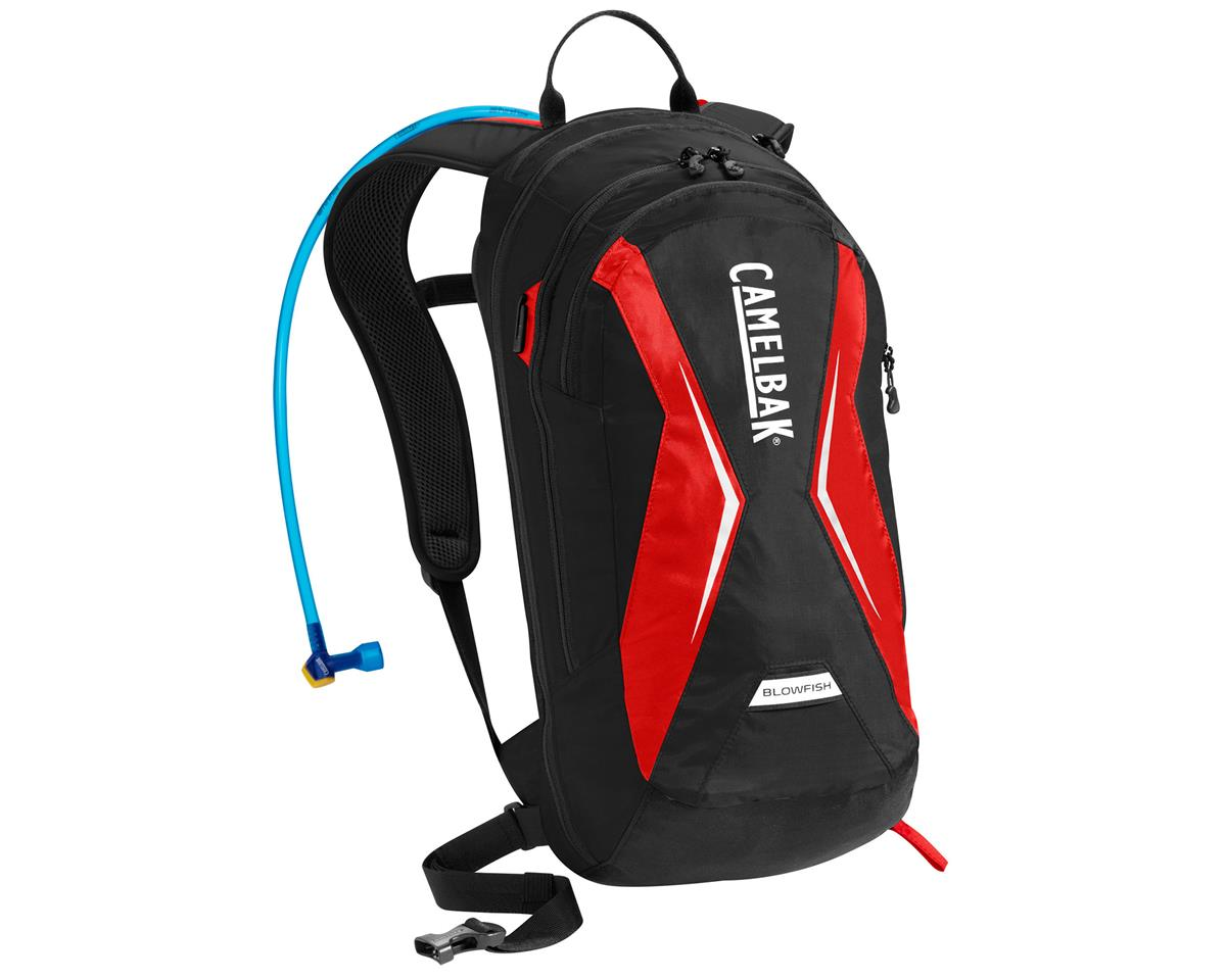 Camelbak Blowfish Hydration Pack (Black/Racing Red) (70oz/2L)