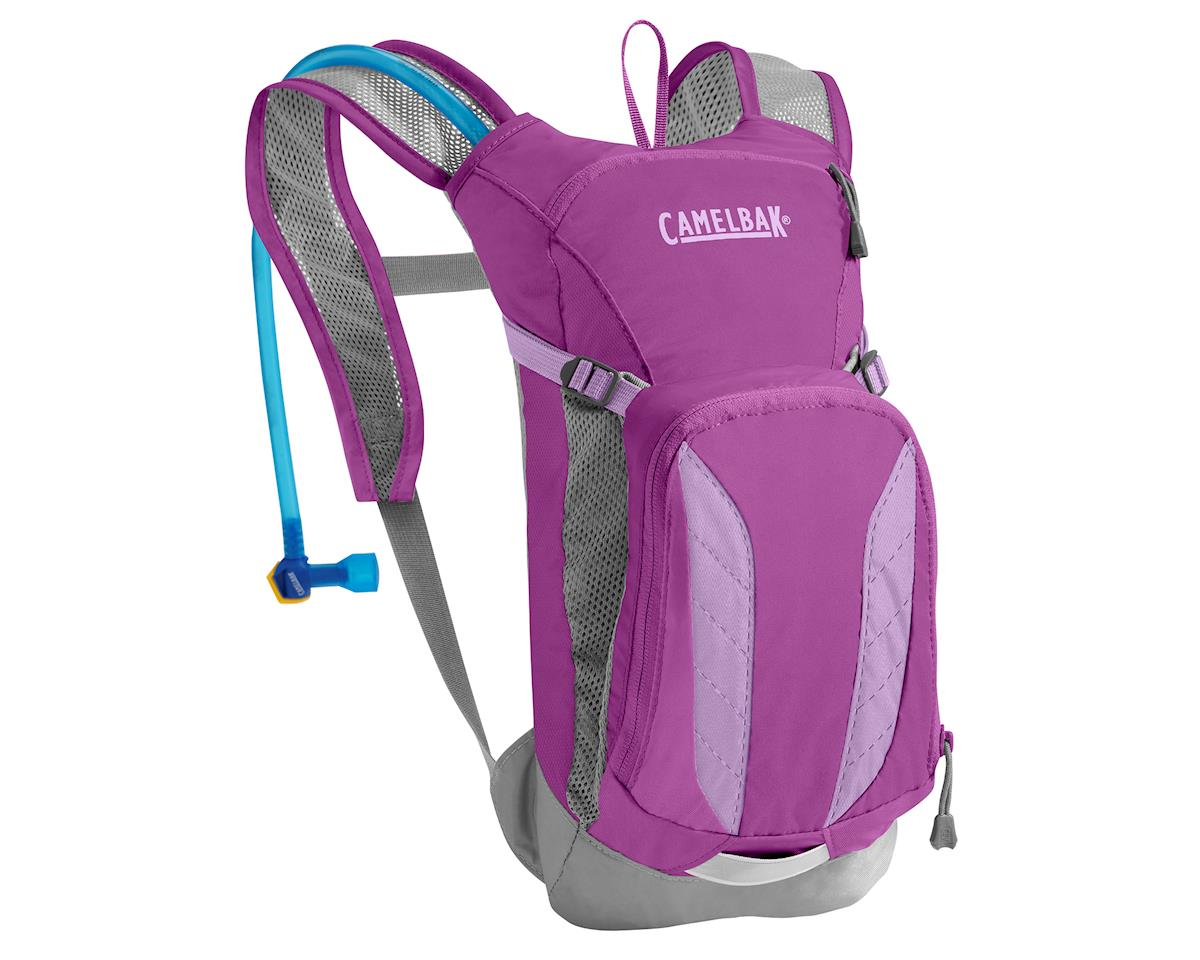 Camelbak Mini M.U.L.E. 50 oz Purple Kid's Hydration (Cactus Flower/Sheer Lilac)