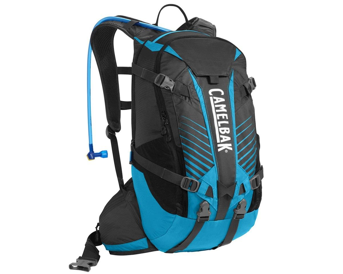 Camelbak KUDU 18 Enduro Hydration Pack (Charcoal/Atomic Blue) (100oz/3L)