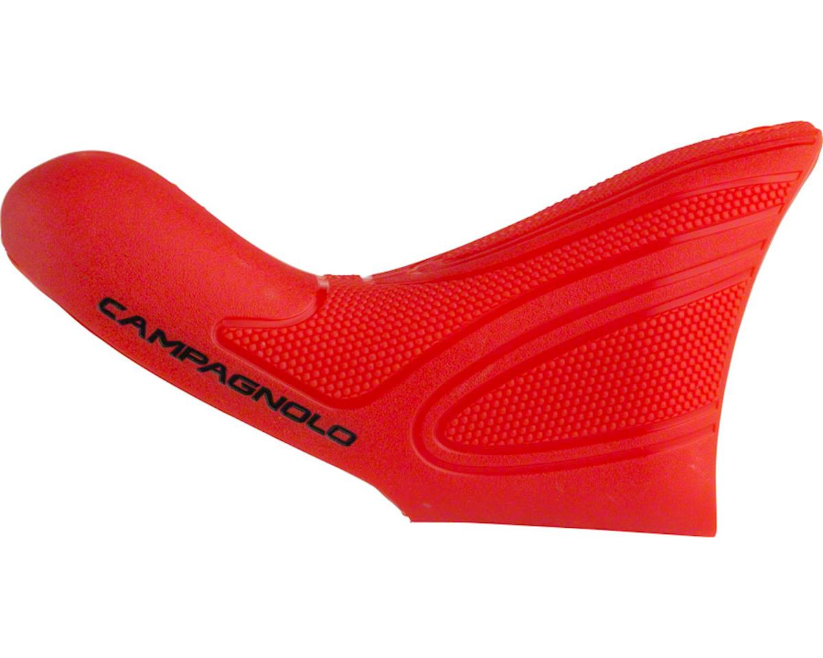 Campagnolo Ultra-Shift Lever Hoods for 2015 and later, Red, Pair