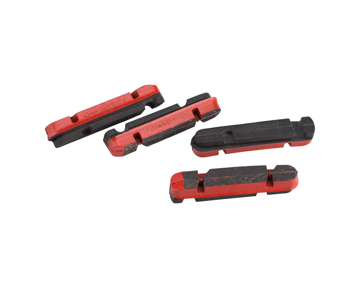 Campagnolo Carbon Rim Brake Pads, Shimano Holder, Set of 4, v2
