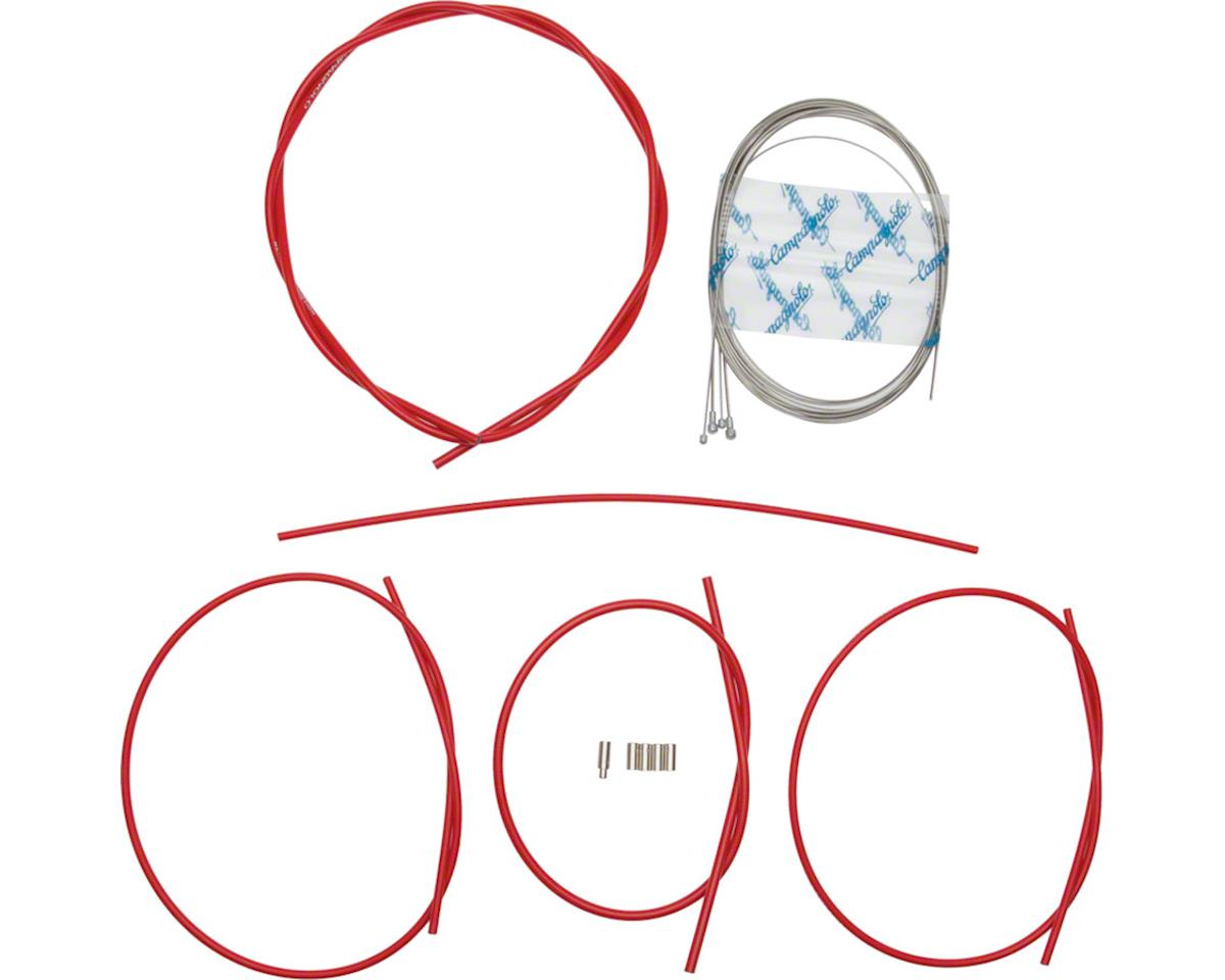 Campagnolo Ultra Low Friction Cable and Housing Set for Brakes and Derailleurs,