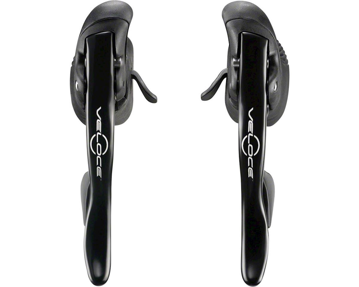 Campagnolo Veloce Ergopower Shifter Set, 10-Speed, Black