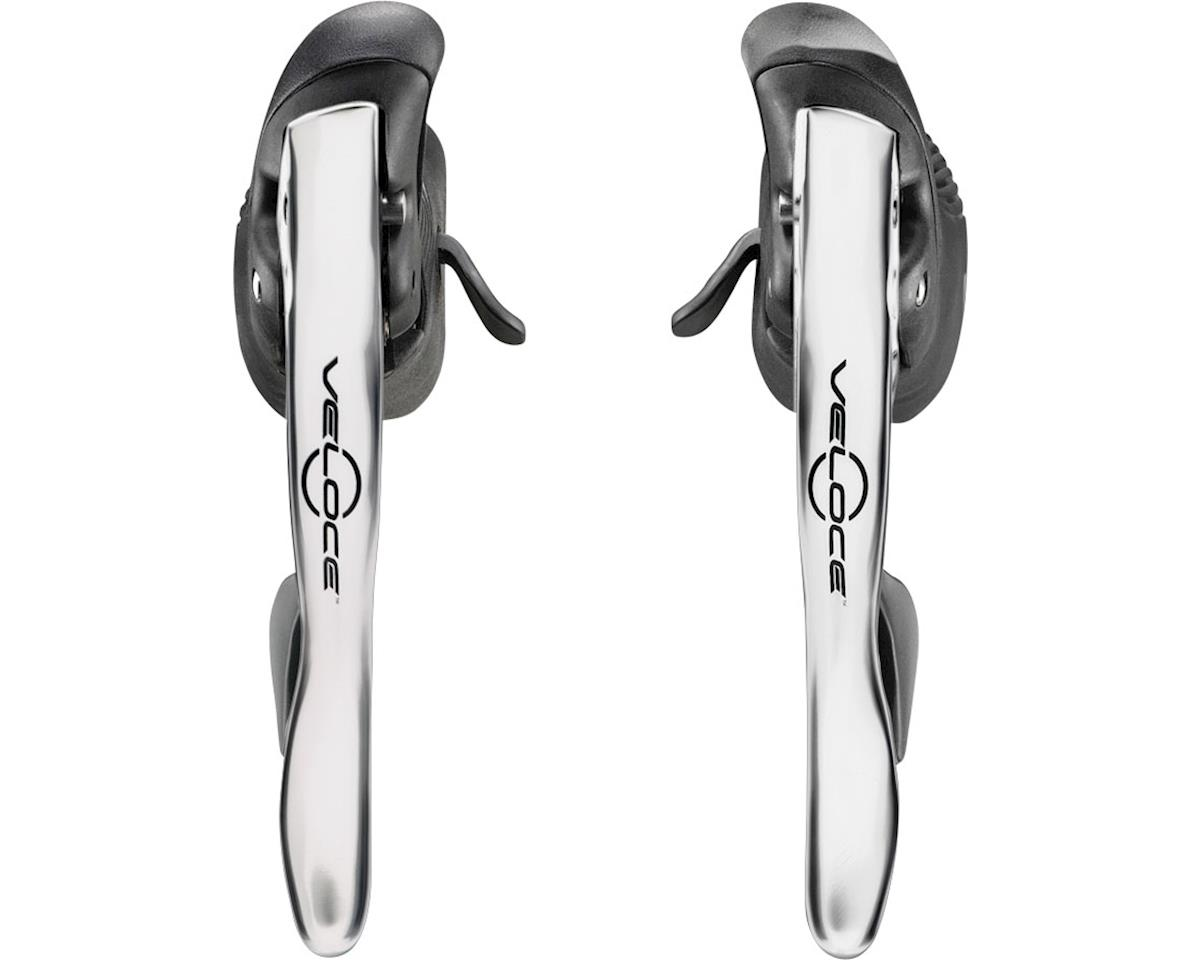 Campagnolo Veloce Ergopower Shifter Set, 10-Speed, Silver