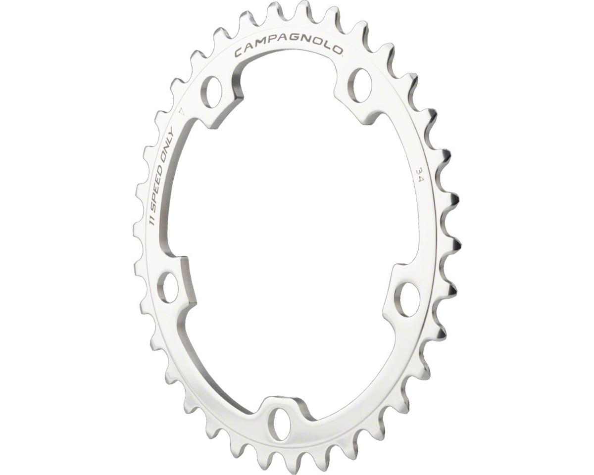 Campagnolo 11-Speed 34t Chainring for 2010 Athena, Silver