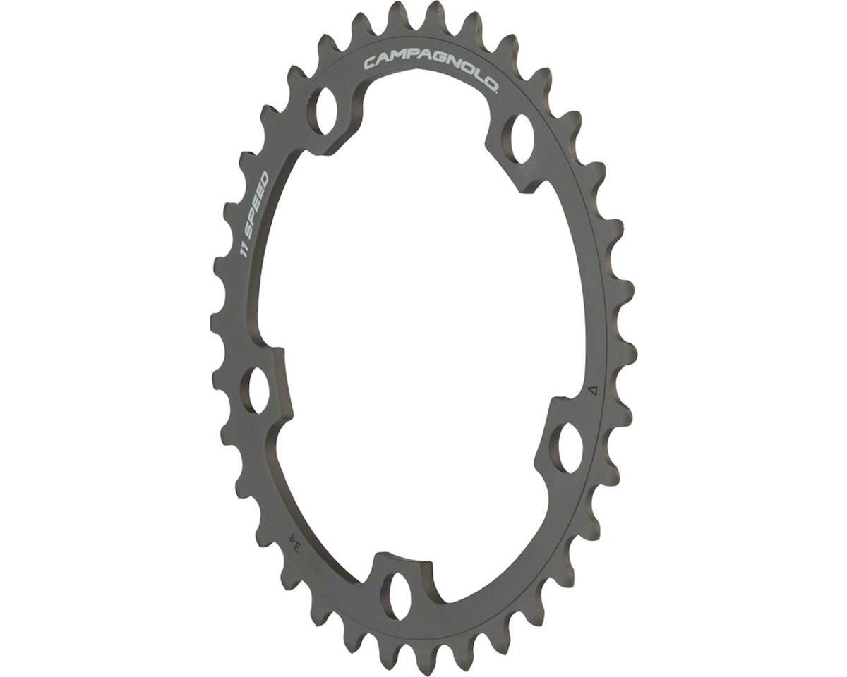 Campagnolo 11 Speed 34 Tooth Chainring for Athena Carbon/Black