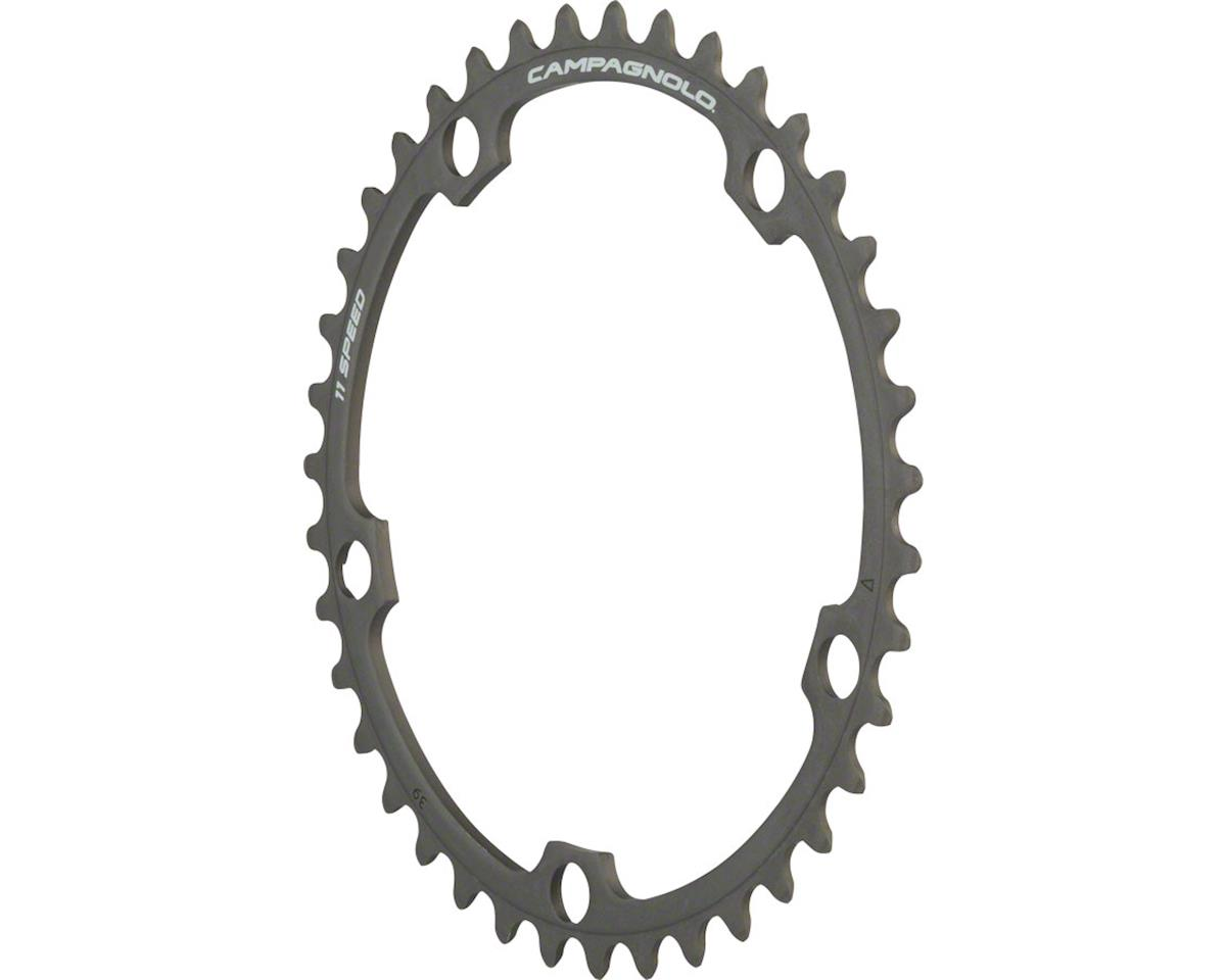 Campagnolo 11 Speed 39 Tooth Chainring for Athena, Black