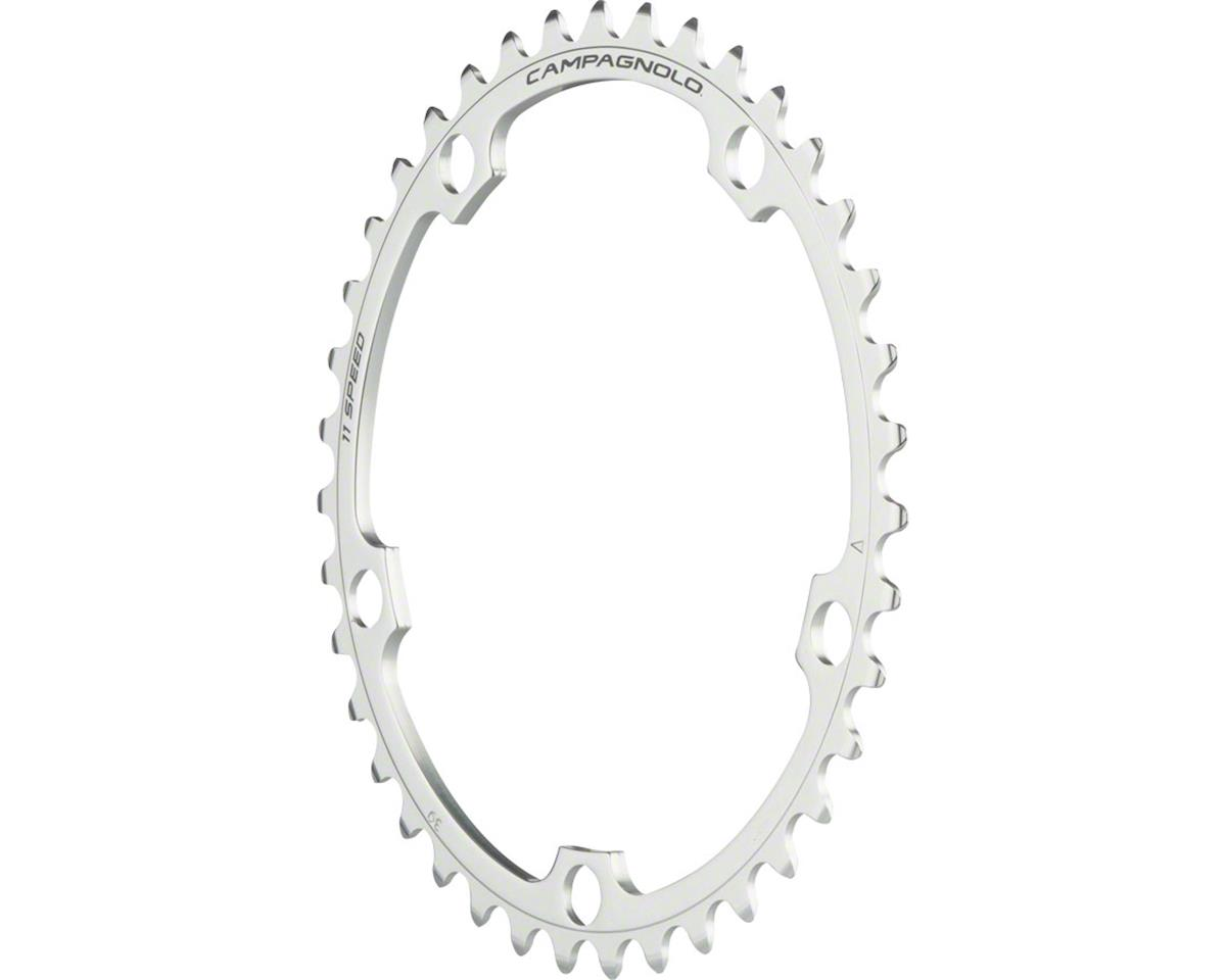 Campagnolo 11 Speed 39 Tooth Chainring for Athena, Silver