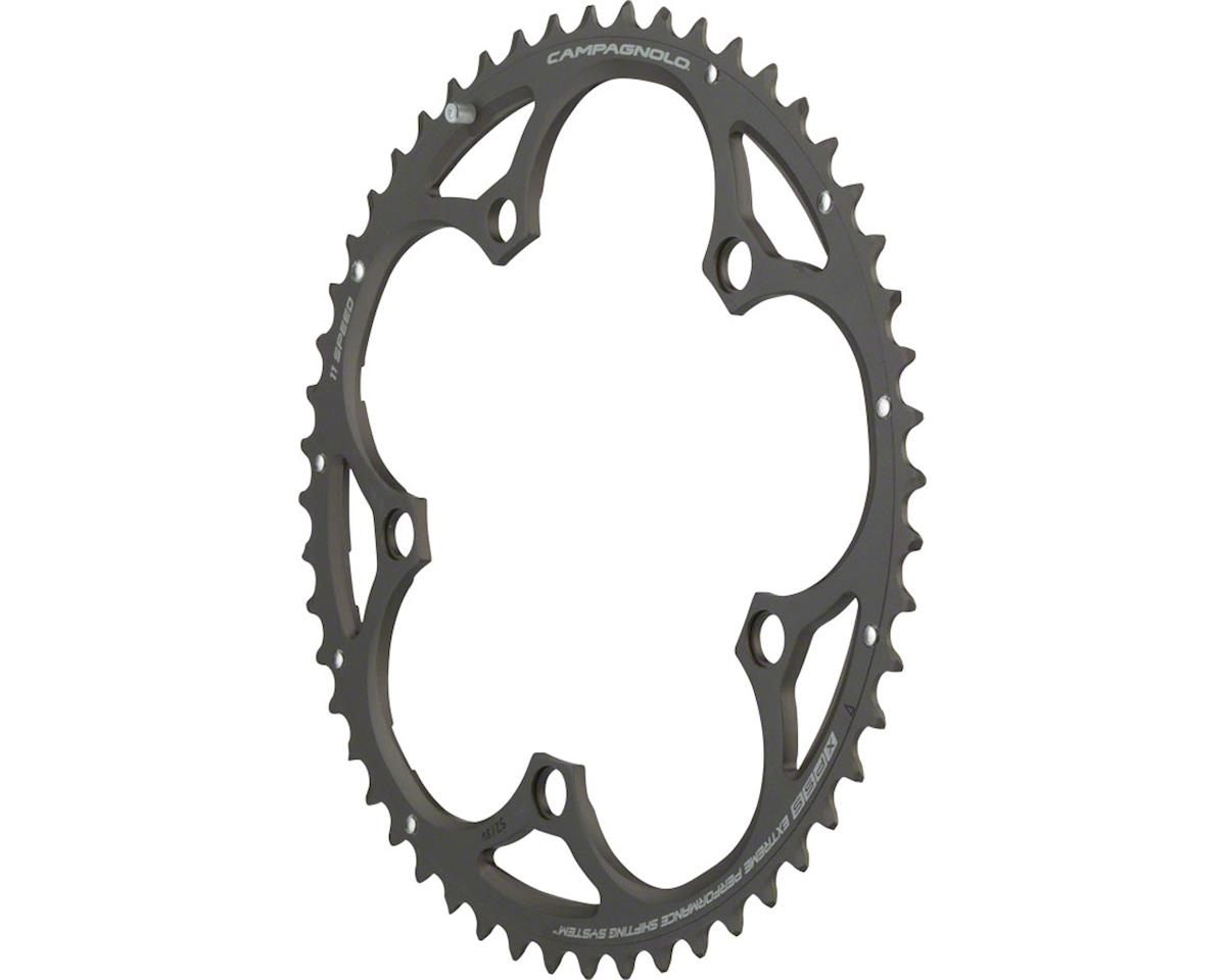 Campagnolo 11 Speed 52 Tooth Chainring for Athena, Black