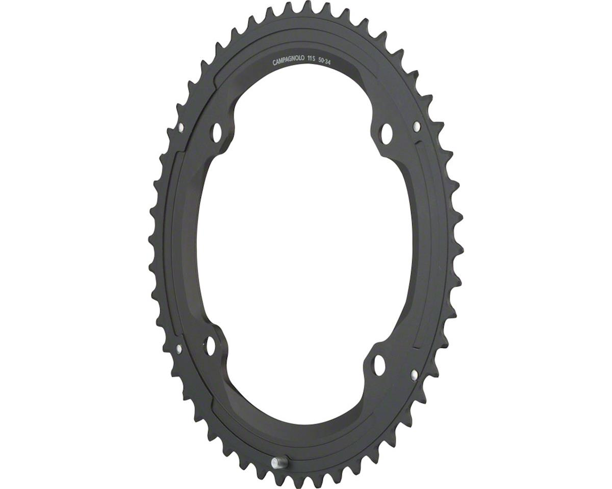 Campagnolo 11 Speed 50 Tooth Chainring and Bolt Set for 2015 and later Super Rec