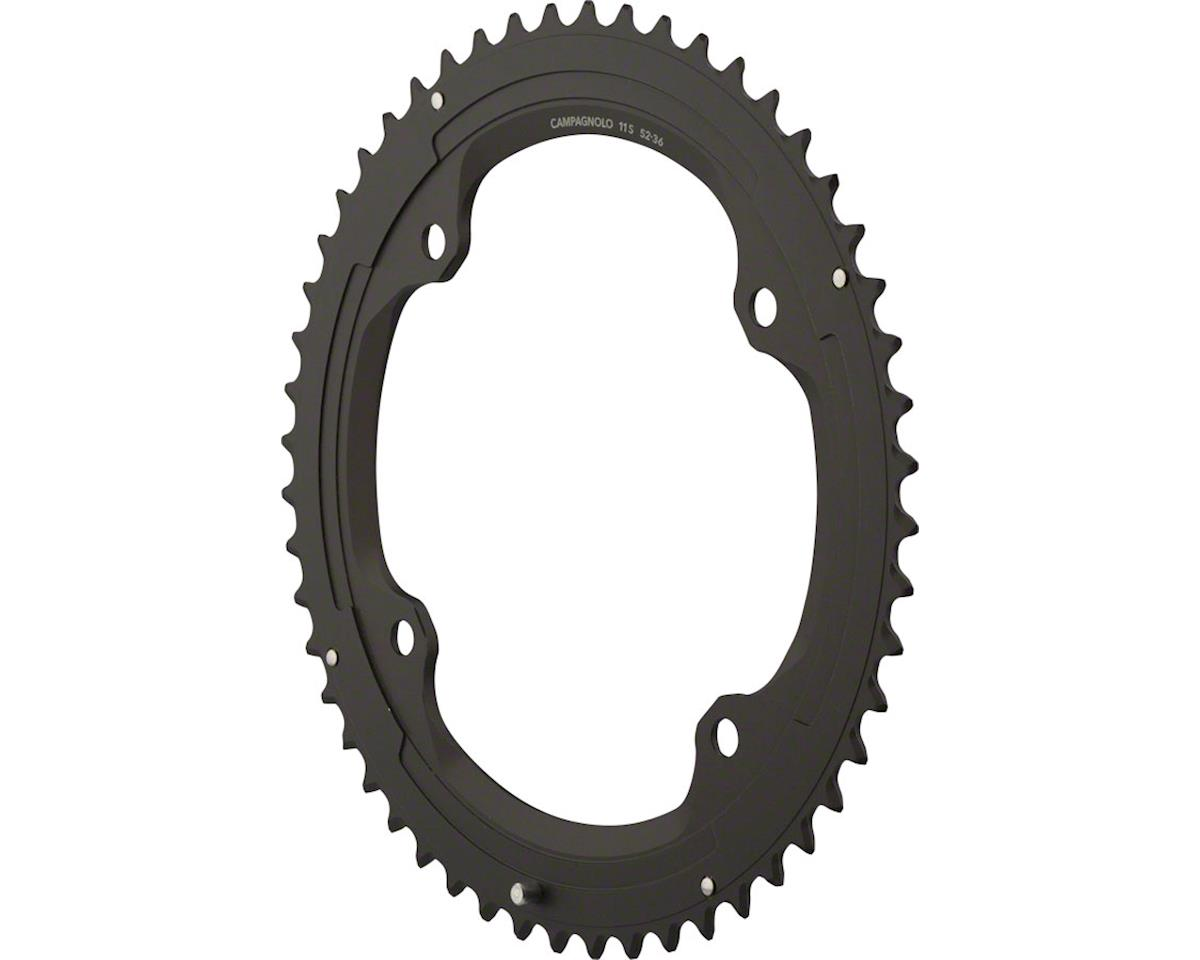 Campagnolo 11 Speed 52 Tooth Chainring and Bolt Set for 2015 and later Super Rec