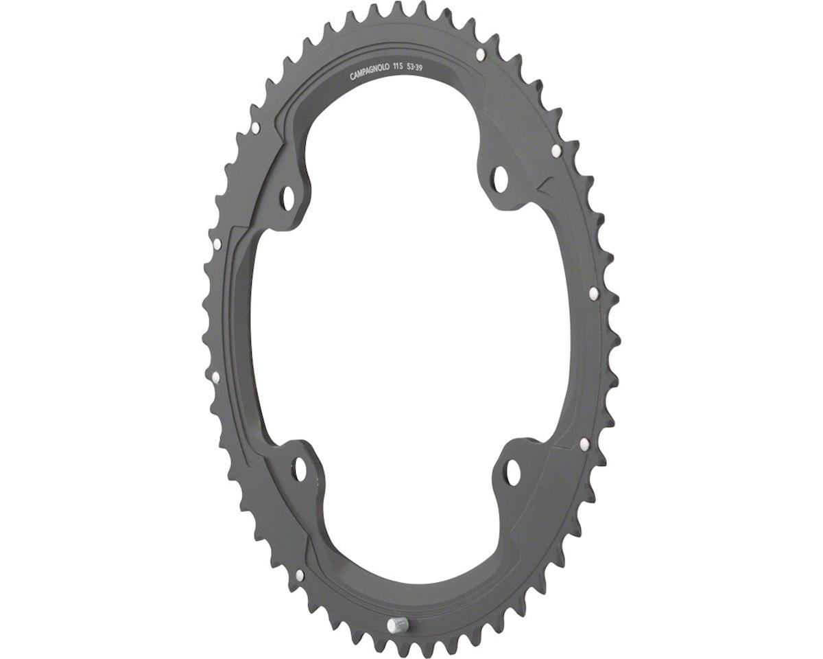 Campagnolo 11 Speed 53 Tooth Chainring and Bolt Set for 2015 and later Super Rec