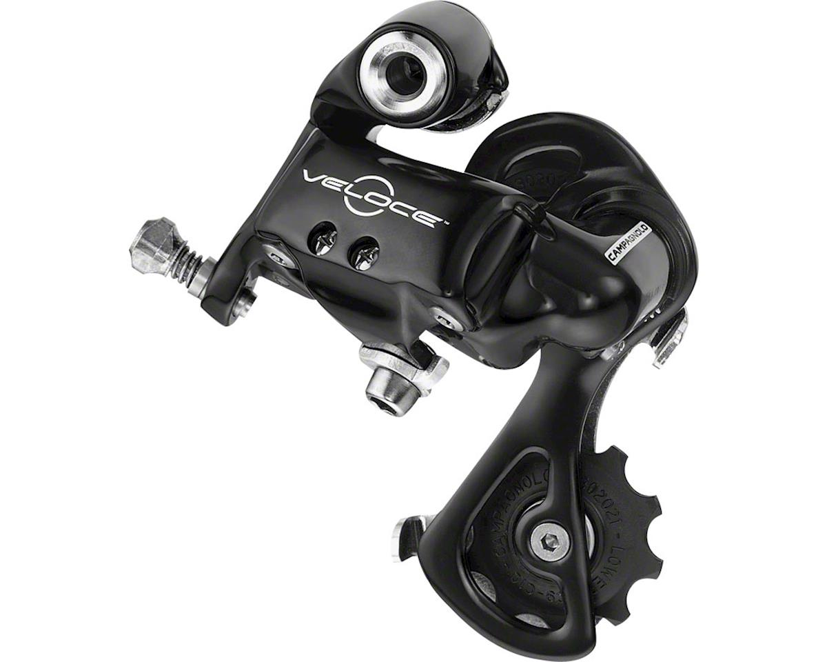 Veloce Rear Derailleur, Medium Cage, Black