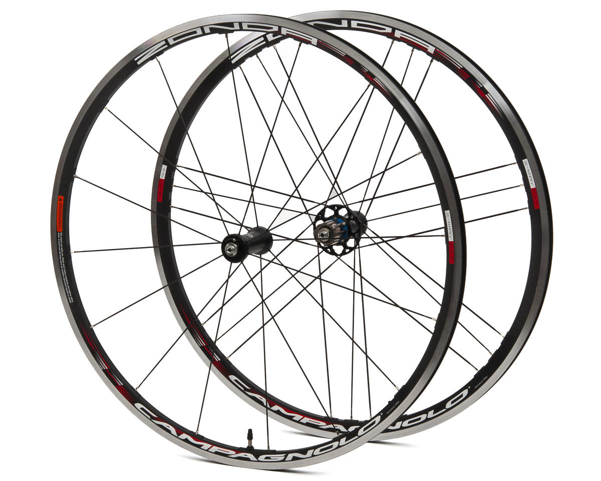 Campagnolo Zonda G3 2-Way-Fit Wheelset (Black)