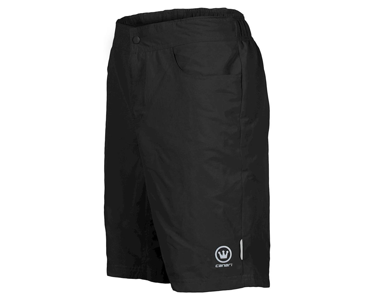 Canari Atlas Gel Baggy Cycling Short (Black) (XL)