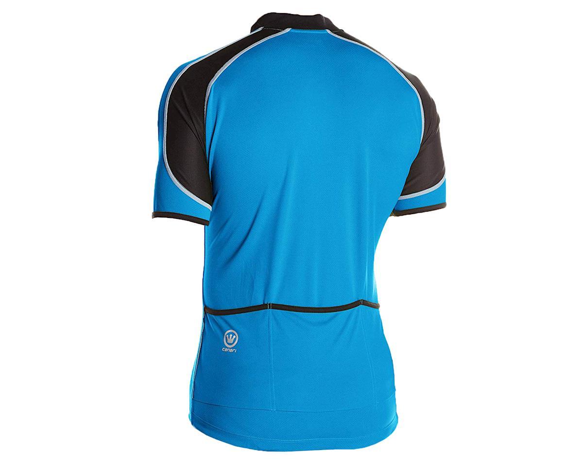 Image 2 for Canari Streamline Short Sleeve Jersey (Blue) (L)