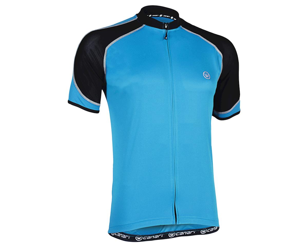 Canari Streamline Short Sleeve Jersey (Blue) (XL)