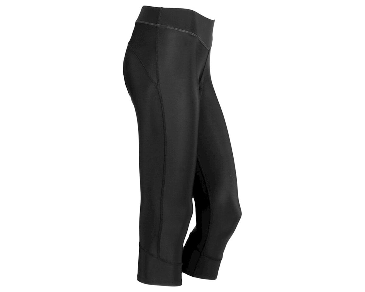 Canari Women's Jasmine Gel Cycling Capri (Black)