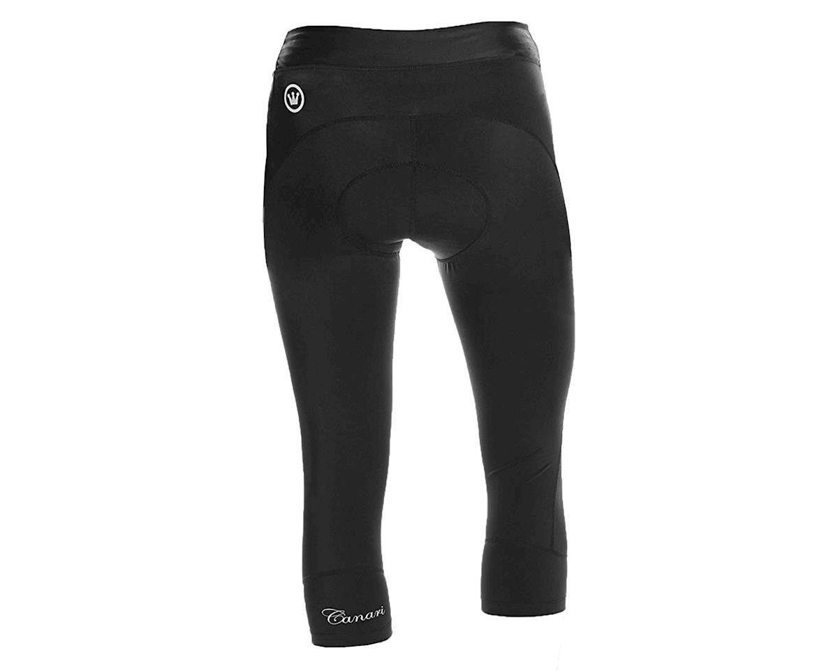 Canari Women's Jasmine Gel Cycling Capri (Black) (S)