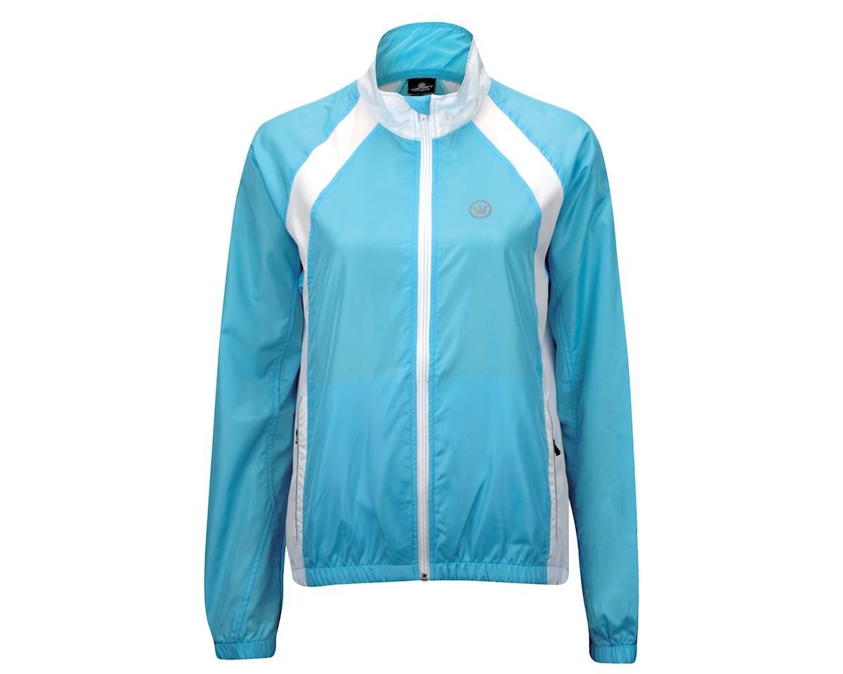 Image 2 for Canari Women's Breakaway Shell Jacket (Freshwater Blue)