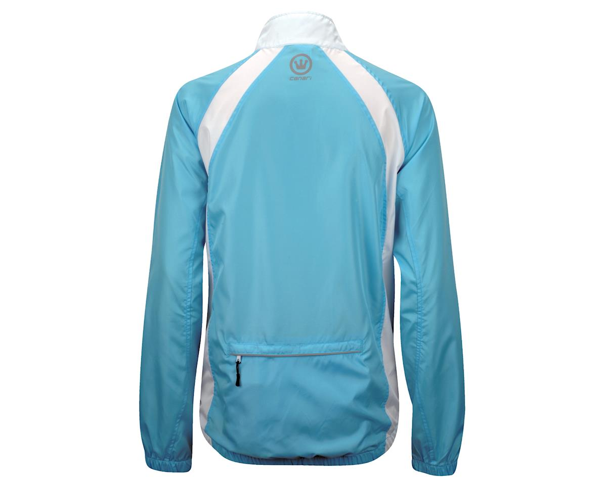 Image 3 for Canari Women's Breakaway Shell Jacket (Freshwater Blue)