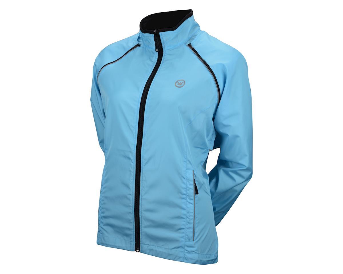 Image 2 for Canari Women's Tour II Jacket (Freshwater Blue)