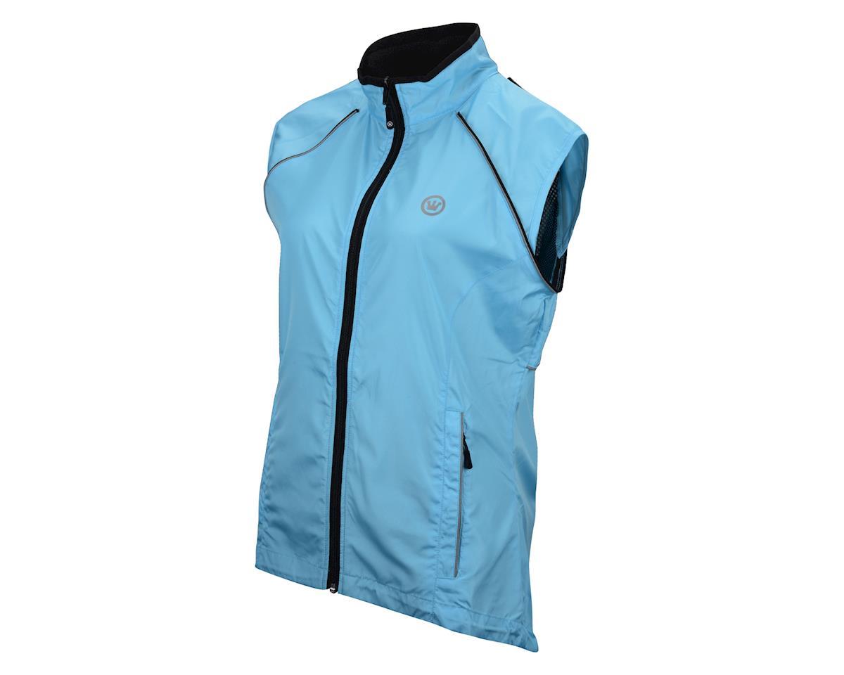 Image 3 for Canari Women's Tour II Jacket (Freshwater Blue)