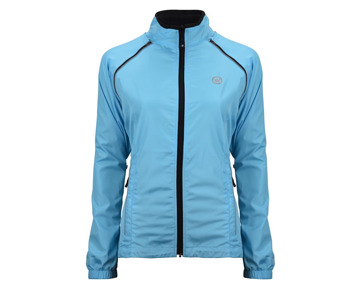 Image 4 for Canari Women's Tour II Jacket (Freshwater Blue)