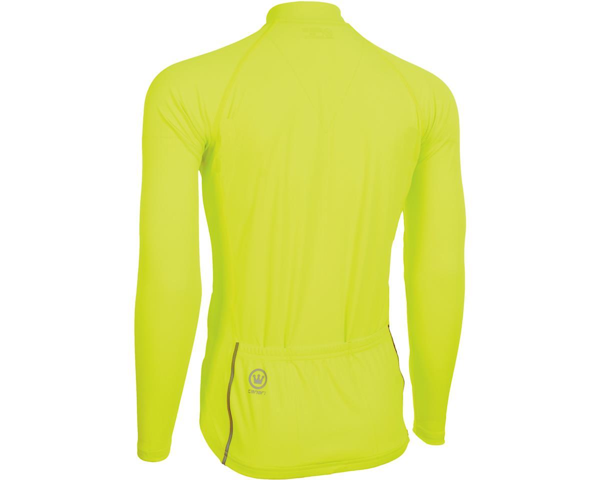 Image 2 for Canari Optic Nova Long Sleeve Jersey (Killer Yellow)