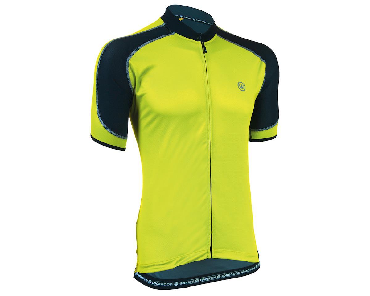 Canari Streamline Short Sleeve Jersey (Killer Yellow) (2XL)