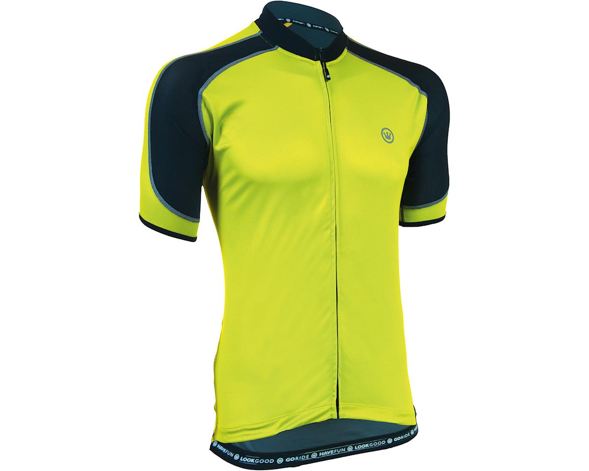 Canari Streamline Short Sleeve Jersey (Killer Yellow) (L)