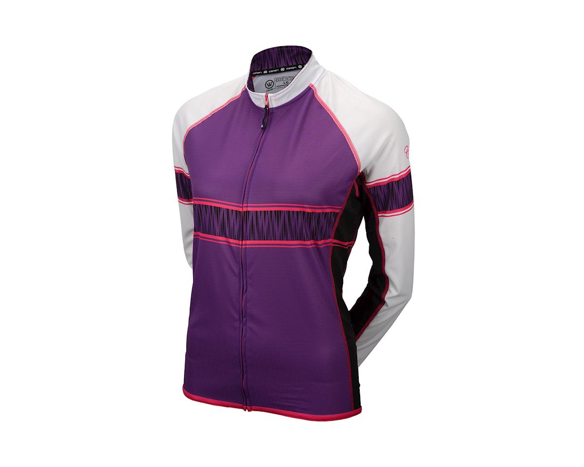 Image 1 for Canari Women's Stevie Long Sleeve Jersey (Imperial Purple)