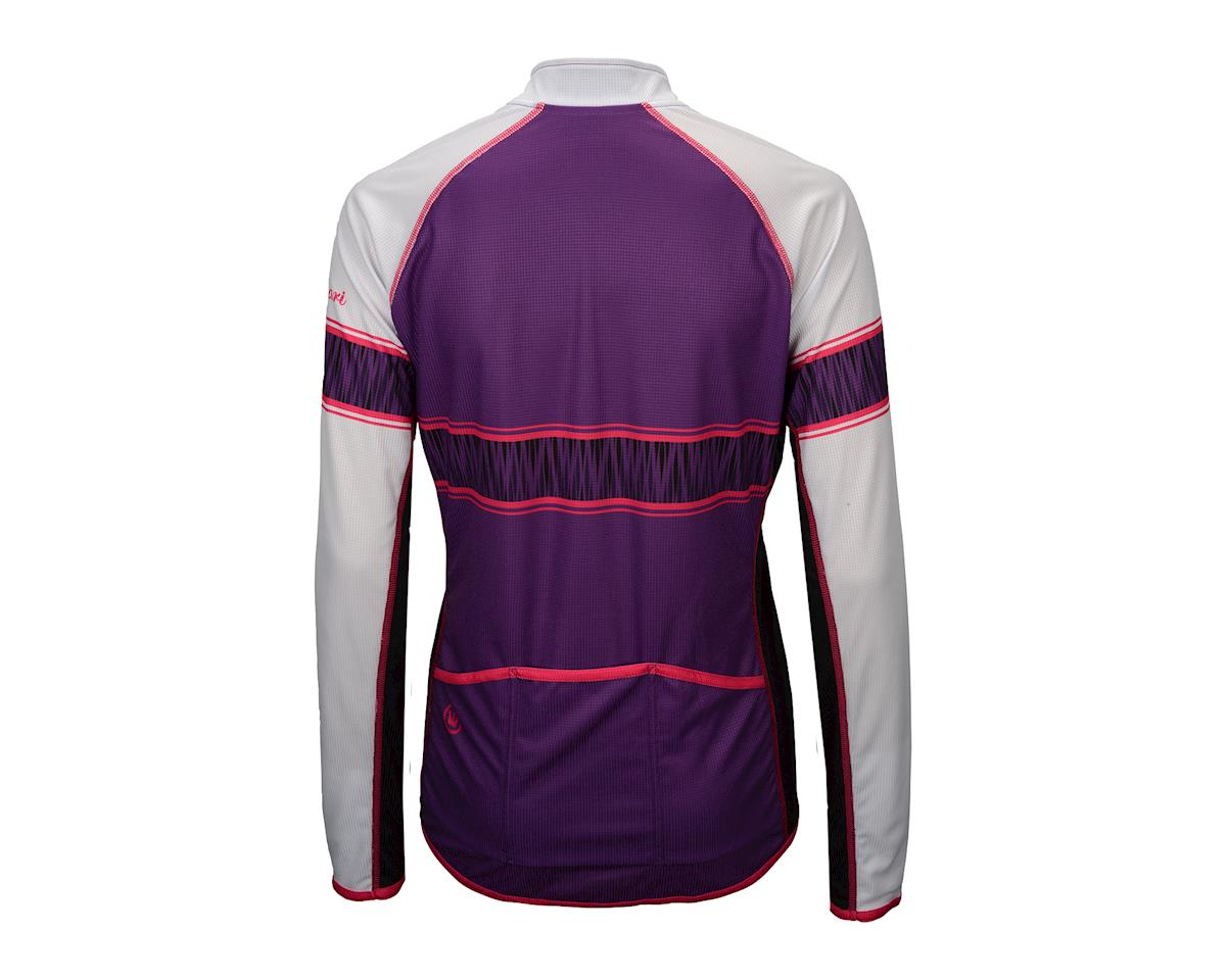 Image 3 for Canari Women's Stevie Long Sleeve Jersey (Imperial Purple)