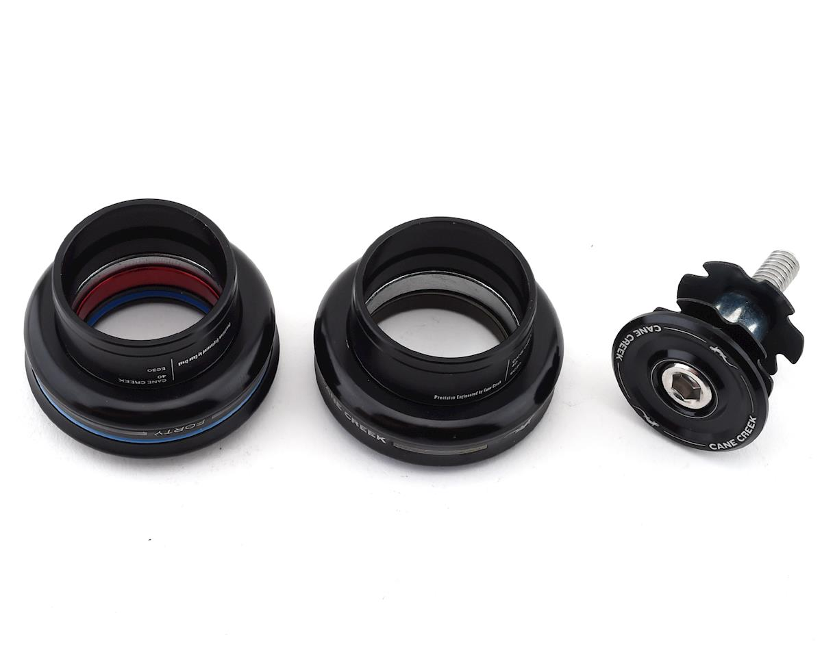 "Cane Creek 40 Headset 1"" Straight Steerer (Black) (EC30) (25.4/26mm)"