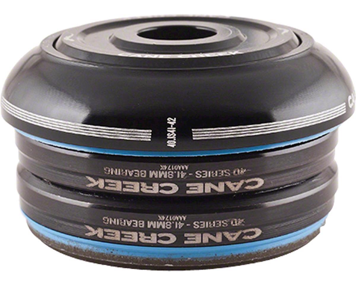Cane Creek 40 Short Cover Headset (Black) (IS42) (28.6mm Threadless)